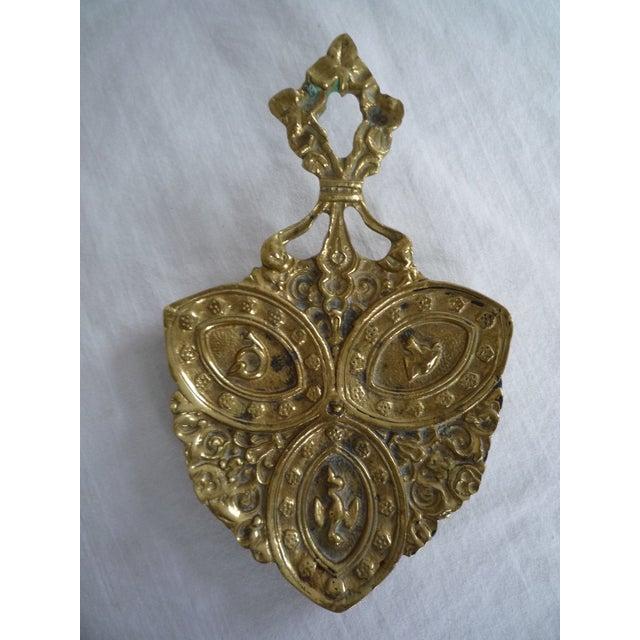 Vintage English Brass Hunt Trinket Dish - Image 2 of 7
