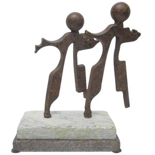 J. Shamus Koch Dancing Couple Rotating Sculpture