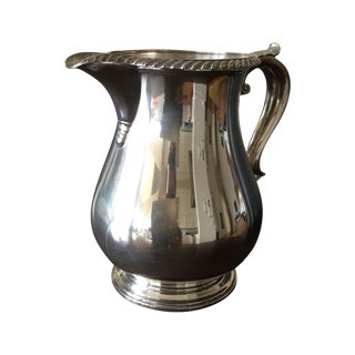 Gorham English Solid Sterling Silver Water Pitcher
