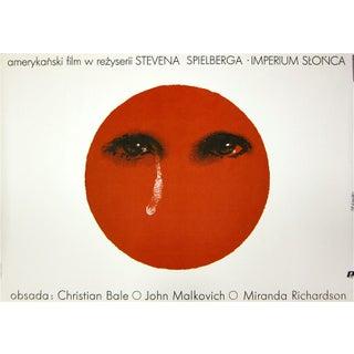 Spielberg Empire of the Sun Polish Film Poster