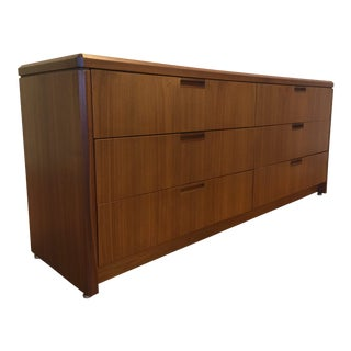 Solid 6-Drawer Lowboy Dresser