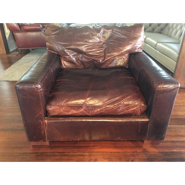 Restoration Hardware Maxwell Luxe Chair Chairish