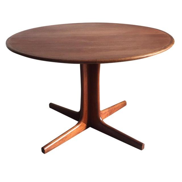 Mobler Teak Pedestal Dining Table - Image 1 of 8