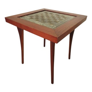Well Designed Mid-Century Chess Table
