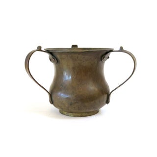 Copper 3-Handled Vessel