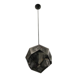 Tom Dixon Etch 1-Light Geometric Globe Pendant