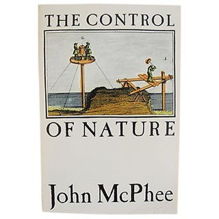 Vintage 1989 'The Control of Nature' Book