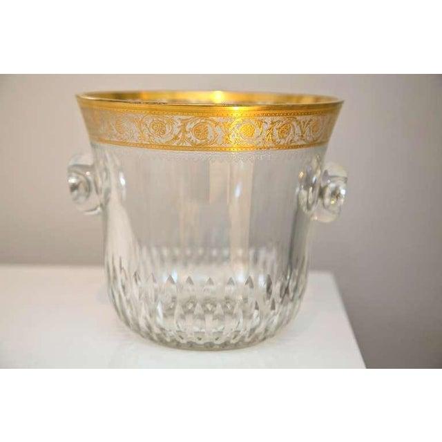 Saint-Louis Thistle Crystal Ice Bucket - Image 2 of 6
