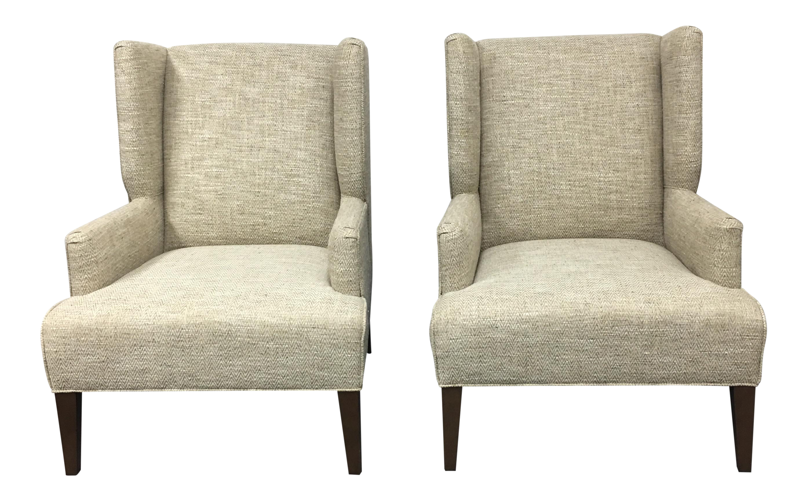 Pair Of Mitchell Gold + Bob Williams Hoyt Chairs