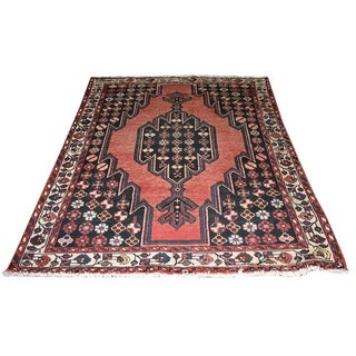 Antique Traditional Persian Hand Woven Rug - 4′5″ × 6′