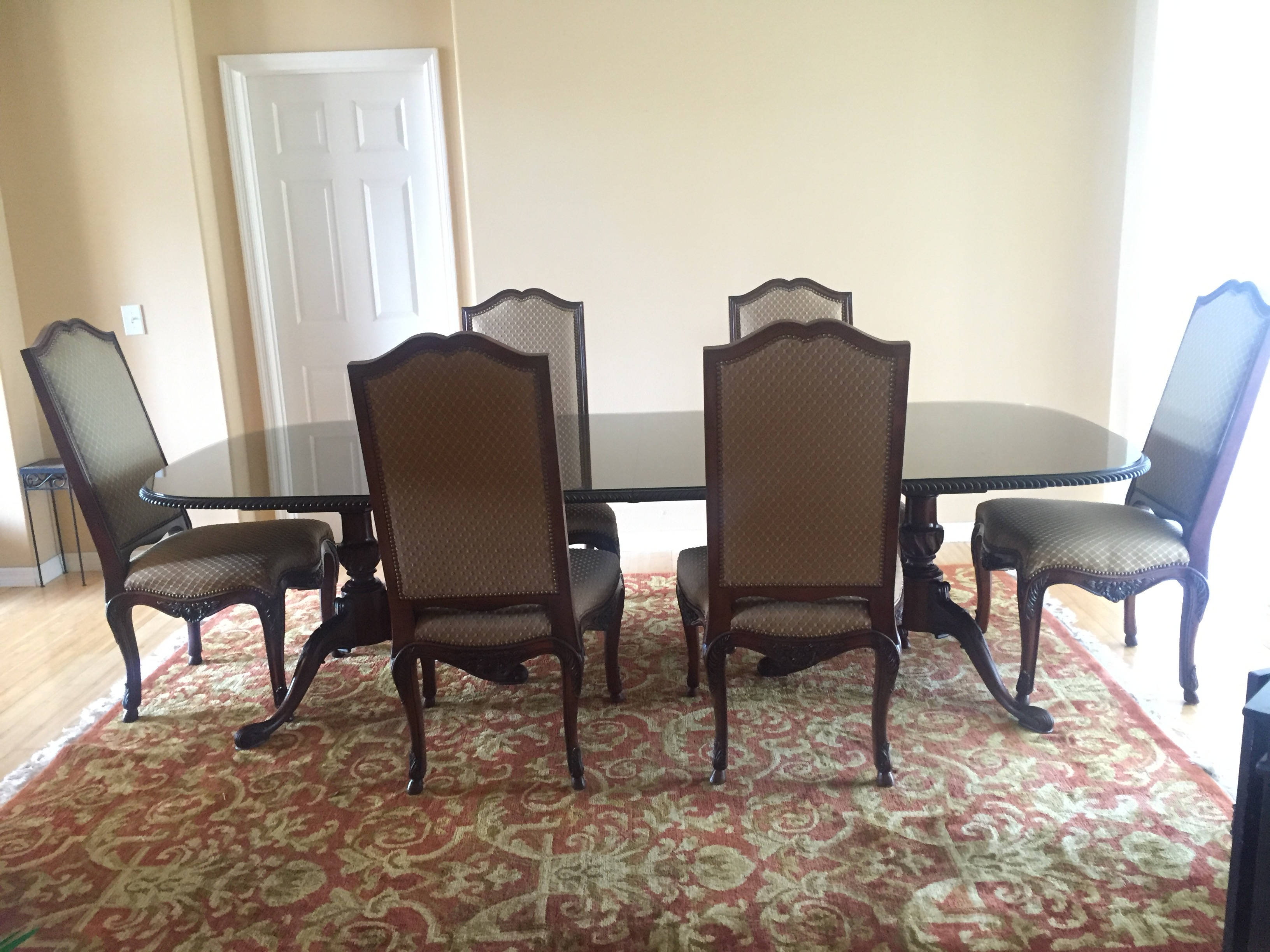 vintage henredon dining set chairish henredon dining room set for sale classifieds