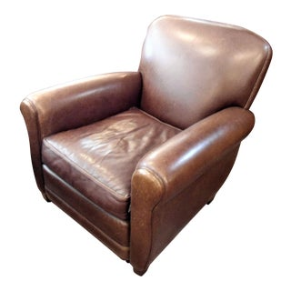 Cisco Brothers Leather Armchair