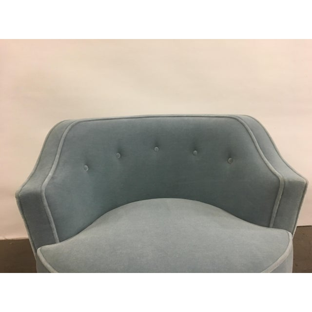 Mid-Century Modern Mohair Chairs - A Pair - Image 10 of 10
