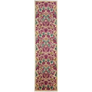 "Arts & Crafts, Hand Knotted Runner Rug - 2' 6"" x 10' 2"""