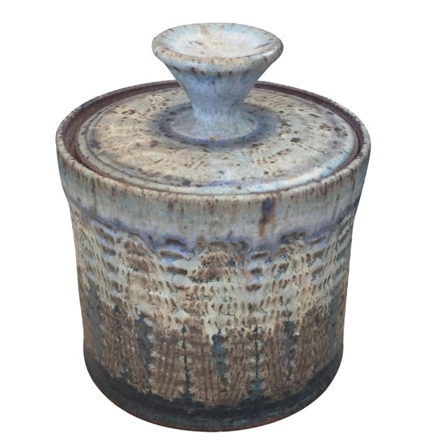 Vintage Studio Pottery Jar - Image 1 of 8