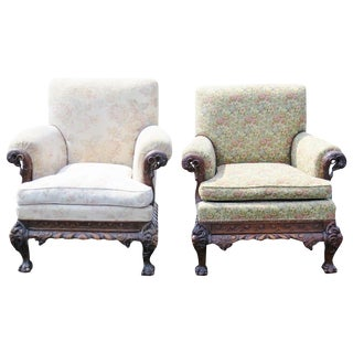 Georgian Style Parlor Chairs - A Pair