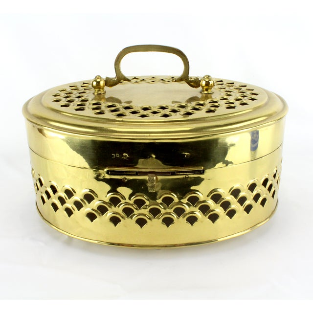 Pierced Brass Cricket Box - Image 4 of 5