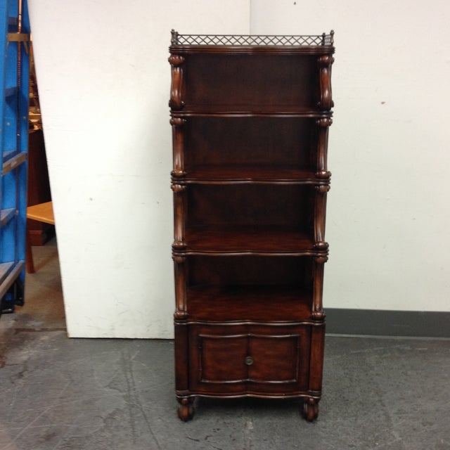 Image of Eastern Etagere With Drawer
