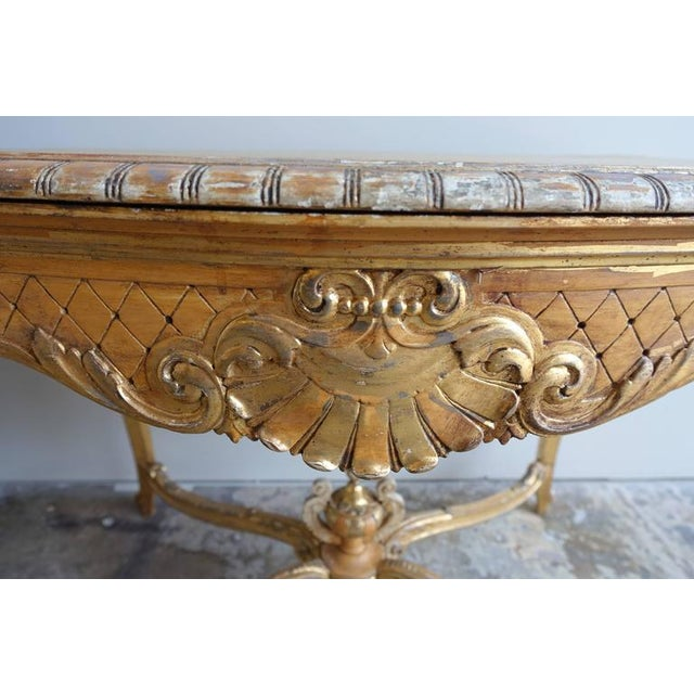 19th Century French Shell Design Table - Image 5 of 9