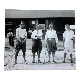Vintage Golfer Photograph