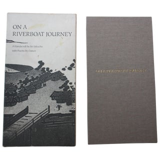 'On a Riverboat Journey: A Handscroll' Poetry Book