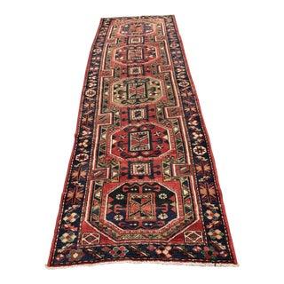Vintage Persian Karajeh Runner - 3′3″ × 10′