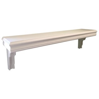 Ballard Designs White Shelves - A Pair