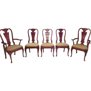 Henredon Mid Century Folio Four Chairs - Set of 5