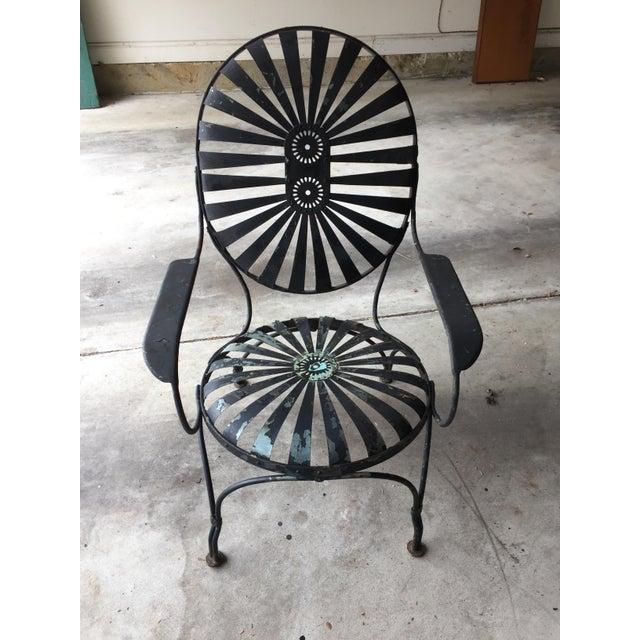 Carre Double Sunburst Garden Chair - Image 3 of 5