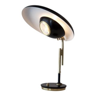 Rare Oscar Torlasco Table Lamp For Lumi