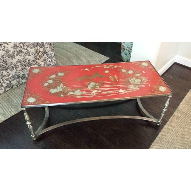 Trouvailles Chinoiserie Cocktail Coffee Table - Image 4 of 8