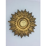 Image of West German Starburst Wall Clock