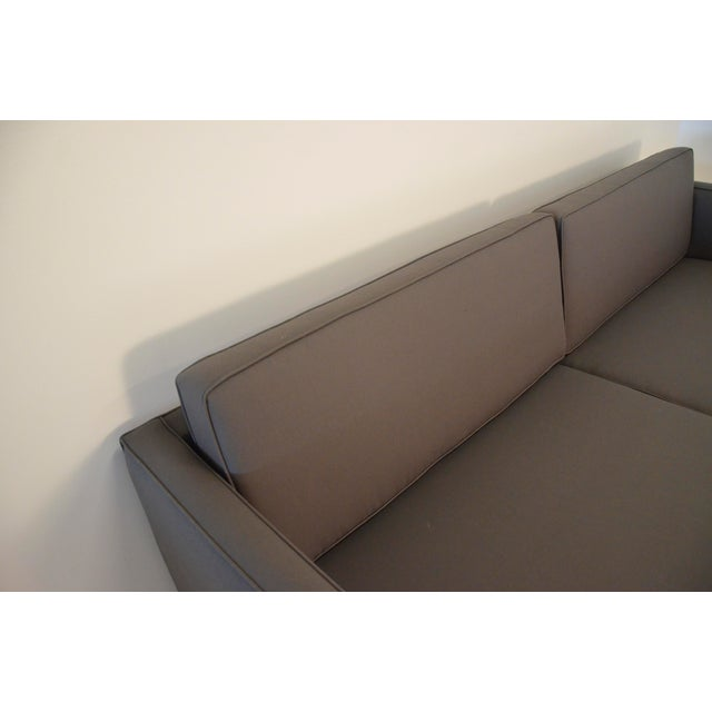 Harvey Probber Sofa Newly Upholstered in Holly Hunt Fabric - Image 3 of 6