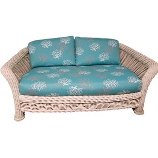 Mid-Century Nautical Ficks Reed Loveseat