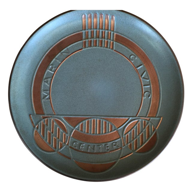 Heath Ceramics Frank Lloyd Wright Plate - Image 1 of 7