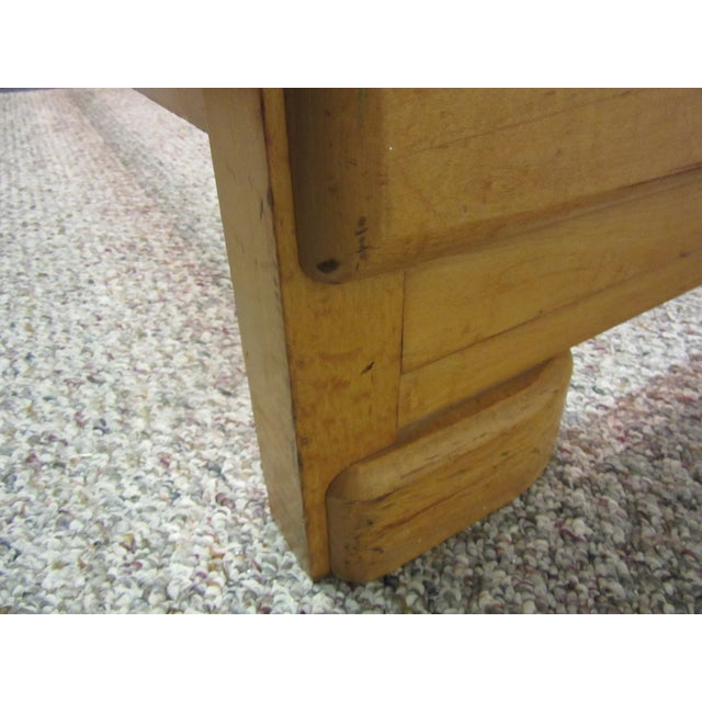 Mid-Century Wakefield Style Twin Beds - A Pair - Image 9 of 11