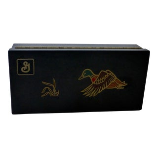 Courac of Monterey California Mid-Century Modern Gaming Box