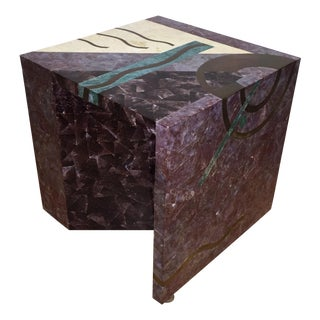 Tavola by Oggetti Tessellated Stone End Table