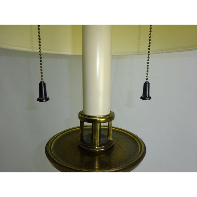 Circa 1960 Faux Bamboo Enamel Table Lamp - Image 7 of 9