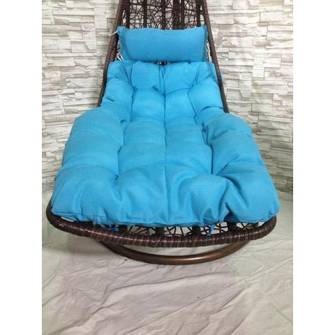 Rattan Swing Chair/Bed - Image 5 of 7