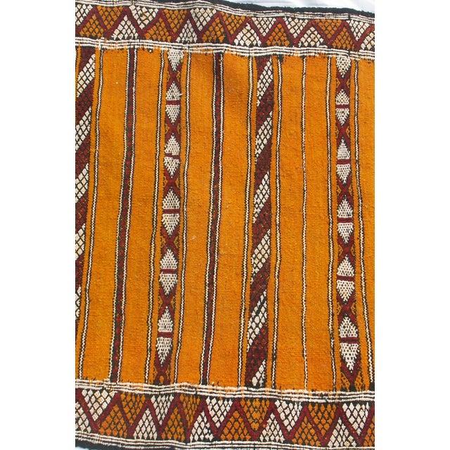 "Image of Moroccan Berber Tribal Kilim Rug - 2' 11"" x 4' 7"""