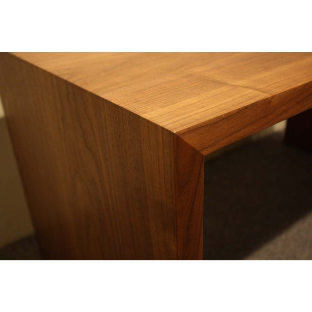 Vioski Solid Walnut Hand Crafted Coffee Table - Image 4 of 5