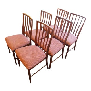 Teak Dining Chairs - Set of 6