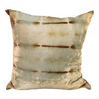 """Rorschach """"Shibori"""" Velvet Pillow"""