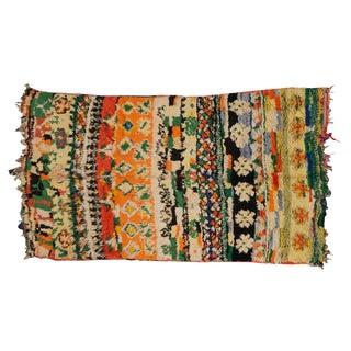 Vintage Moroccan Beni Ourain Rug - 4′11″ × 8′4″