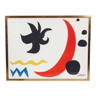 1970's. Alexander Calder Lithograph
