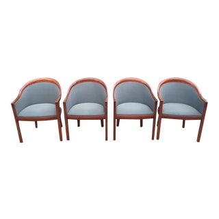 Ward Bennett for Brickel Associates Dining Chairs - Set of 4