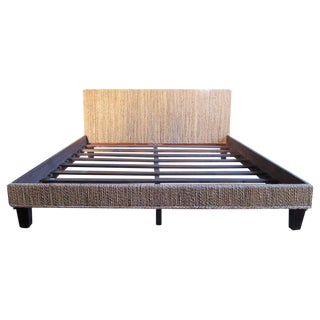 Seagrass Woven Bed Frame