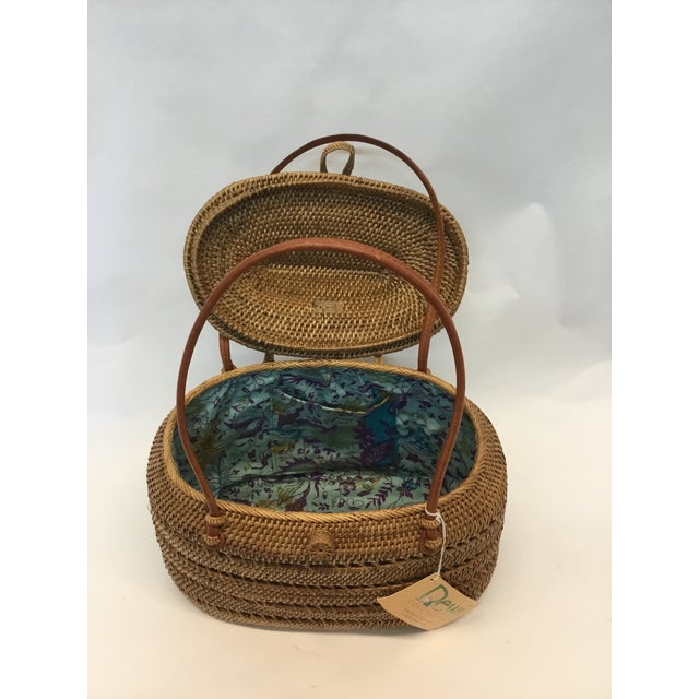Carved Exotic Balinese Handbag - Image 3 of 6