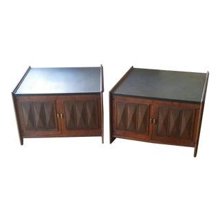 Vintage Lane Side Tables - A Pair
